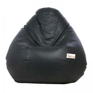 sattva-classic-xl-bean-bag-cover-grey - bean-bags