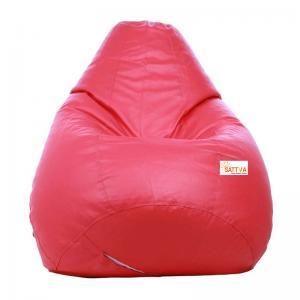 sattva-classic-xxl-bean-bag-cover-pink - bean-bags