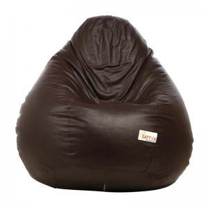 sattva-classic-xl-bean-bag-brown - bean-bags