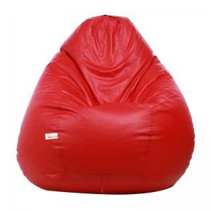 sattva-classic-xl-bean-bag-red - bean-bags