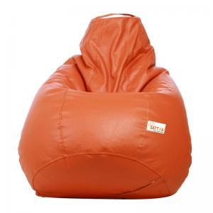 sattva-classic-xl-bean-bag-orange - bean-bags