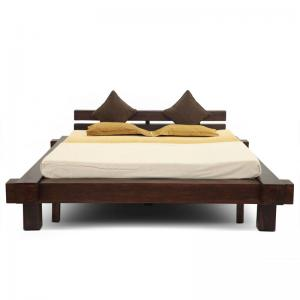 algeria-bed-without-storage-mahogany - beds