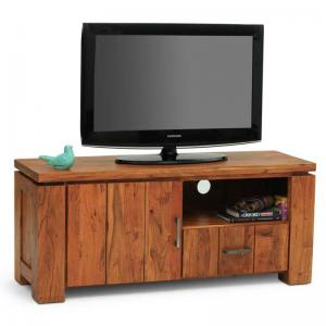 turin-tv-unit-walnut - entertainment-and-tv-units