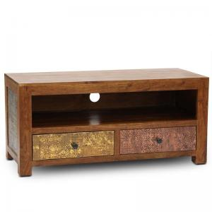 siena-tv-unit-walnut - entertainment-and-tv-units
