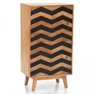 herringbone-cabinet-tall - sideboards-and-crockery-units