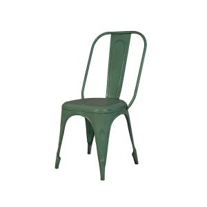 industrial-dining-chair-green - dining-tables-and-chairs