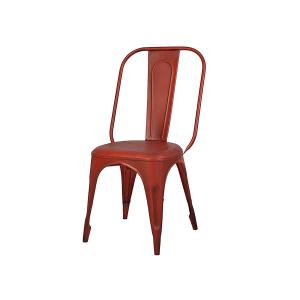 industrial-dining-chair-red - dining-tables-and-chairs