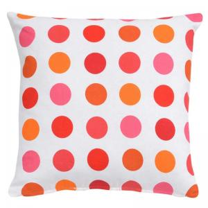 home-boutique-floral-design-cushion-cover-orange - kids-decor