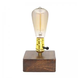 wooden-base-table-lamp-with-switch-holder - table-lamps