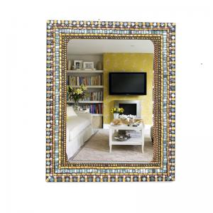 rectangular-mosaic-mirror - mirrors-and-jharokhas