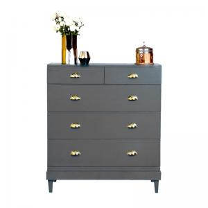charlotte-chest-steel-grey - chest-of-drawers