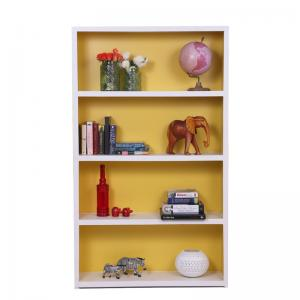 lola-white-and-yellow-bookcase - book-cases