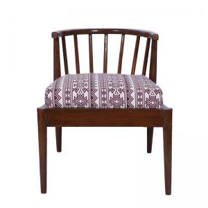 oakley-accent-chair-in-bohemian-jam-fabric-with-natural-polish - chairs