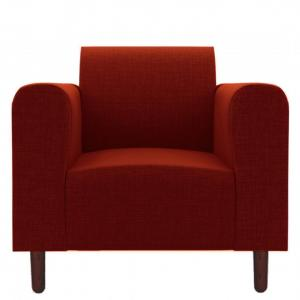 magnolia-red-one-seater-sofa - sofas-and-recliners
