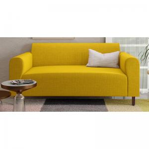 magnolia-yellow-two-seater-sofa - sofas-and-recliners