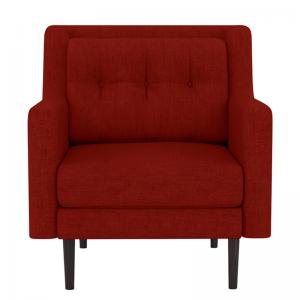 heather-red-one-seater-sofa - sofas-and-recliners