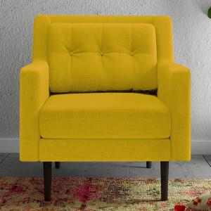 heather-yellow-one-seater-sofa - sofas-and-recliners