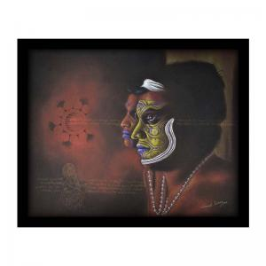 painting-of-indian-theyyam-make-up-by-vinayak-jarang-s - art-prints