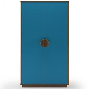 kevin-2-door-wardrobe-blue - wardrobes