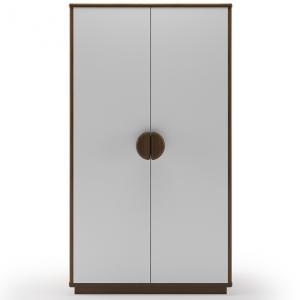 kevin-2-door-wardrobe-white - wardrobes