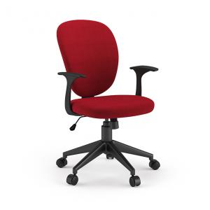 sarge-study-chair-red - chairs