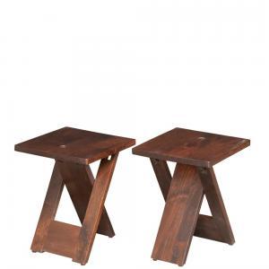 mango-wood-adele-set-of-2-stool - benches-stools-ottomans