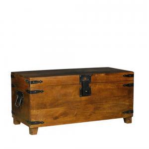 mango-wood-blanket-box - storage-and-shelves