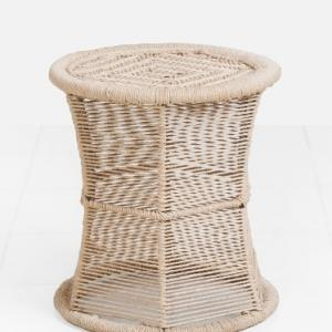 rope-tall-moorah - benches-stools-and-ottomans