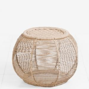 rope-doaba-round-moorah - benches-stools-and-ottomans