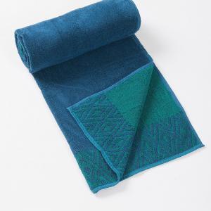 blue-cotton-pile-jac-hafiz-face-towel - bath-towels