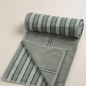 blue-cotton-pile-jac-bold-face-towel - bath-towels