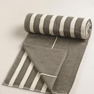 grey-cotton-pile-jac-bold-face-towel - bath-towels