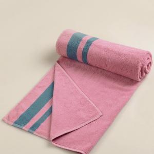 pink-cotton-pile-jac-vivosa-face-towel - bath-towels