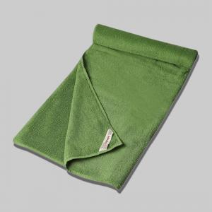 green-cotton-pile-plain-face-towel - bath-towels