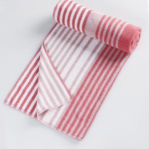 pink-cotton-pile-prayag-face-towel - bath-towels