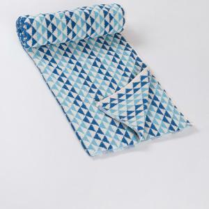 blue-cotton-pile-noori-face-towel - bath-towels