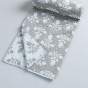 grey-cotton-jac-pile-vibhor-face-towel - bath-towels