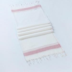 white-cotton-woven-gamcha-hand-towel - bath-towels
