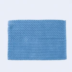 blue-cotton-woven-giri-bath-mat - bath-accessories