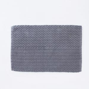 grey-cotton-woven-giri-bath-mat - bath-accessories