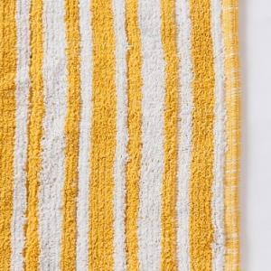 yellow-cotton-woven-pranay-bathmat - bath-accessories