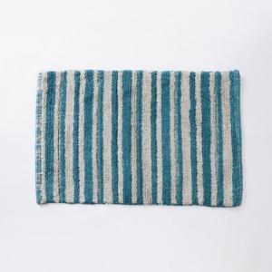 green-cotton-woven-pranay-bathmat - bath-accessories