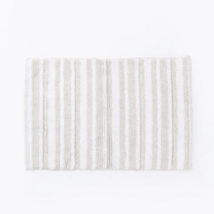 beige-cotton-woven-pranay-bathmat-wh - bath-accessories