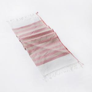 pink-cotton-woven-sarang-gamcha-hand-towel - bath-towels