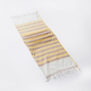 yellow-cotton-woven-sarang-gamcha-hand-towel - bath-towels