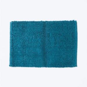 green-cotton-woven-bathmat - bath-accessories