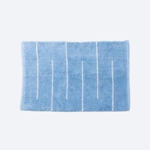 bluewhite-cotton-woven-disha-bathmat - bath-accessories