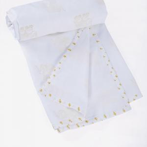 yellow-cotton-printed-aangan-ibha-kids-dohar - kids-bed-and-bath