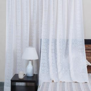 natural-cotton-woven-cutwork-curtain-window - curtains-and-blinds