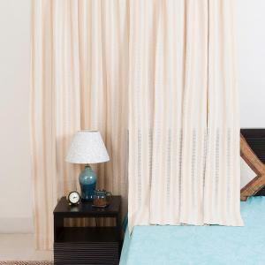 natural-cotton-woven-jaali-curtain-window - curtains-and-blinds